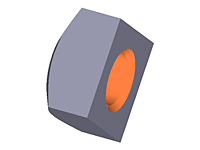 Square Nut, Metric