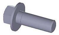 Flange-Bolt--Metric