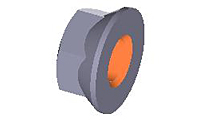 Flange-Nut--Metric